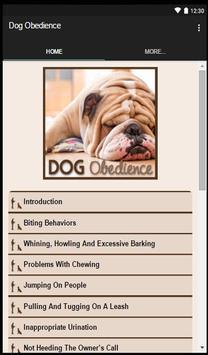 Dog Obedience apk screenshot