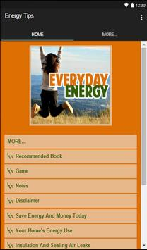 Energy Tips apk screenshot