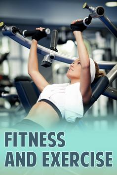 Fitness And Exercise poster