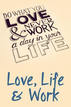 Love, Life & Work poster