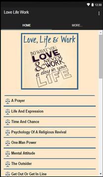 Love, Life & Work apk screenshot