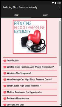 Reducing Blood Pressure apk screenshot