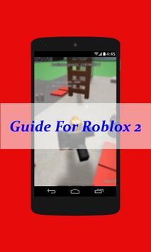 Guide For Roblox 2 apk screenshot