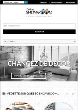 Québec Showroom screenshot 1