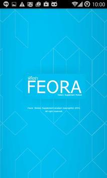 FEORA poster