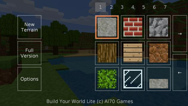 Build Your World Lite apk screenshot