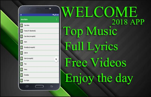 Anne-Marie - 2002 Best Song and lyrics for Android - APK