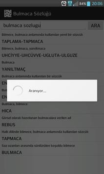Bulmaca Sözlüğü apk screenshot