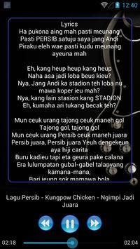 Lagu PERSIB BANDUNG Lengkap screenshot 2