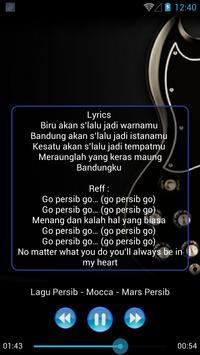 Lagu PERSIB BANDUNG Lengkap screenshot 5
