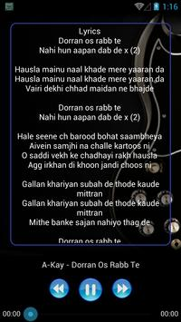 New PUNJABI SONG & Lyric screenshot 3