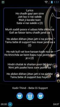 New PUNJABI SONG & Lyric screenshot 7
