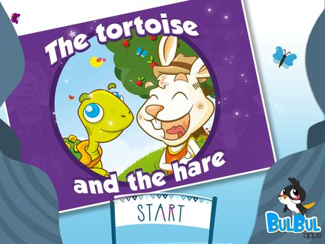 Tortoise and the Hare Aesop's poster
