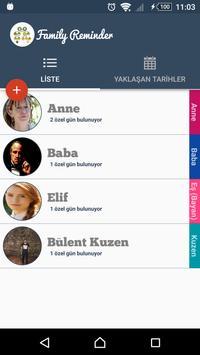 Family Reminder screenshot 1
