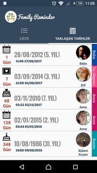 Family Reminder screenshot 2