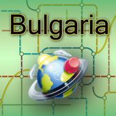 Bulgaria Map icon