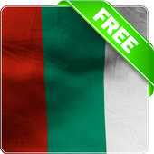 Bulgaria flag lwp Free icon
