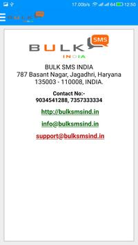BULK SMS INDIA apk screenshot