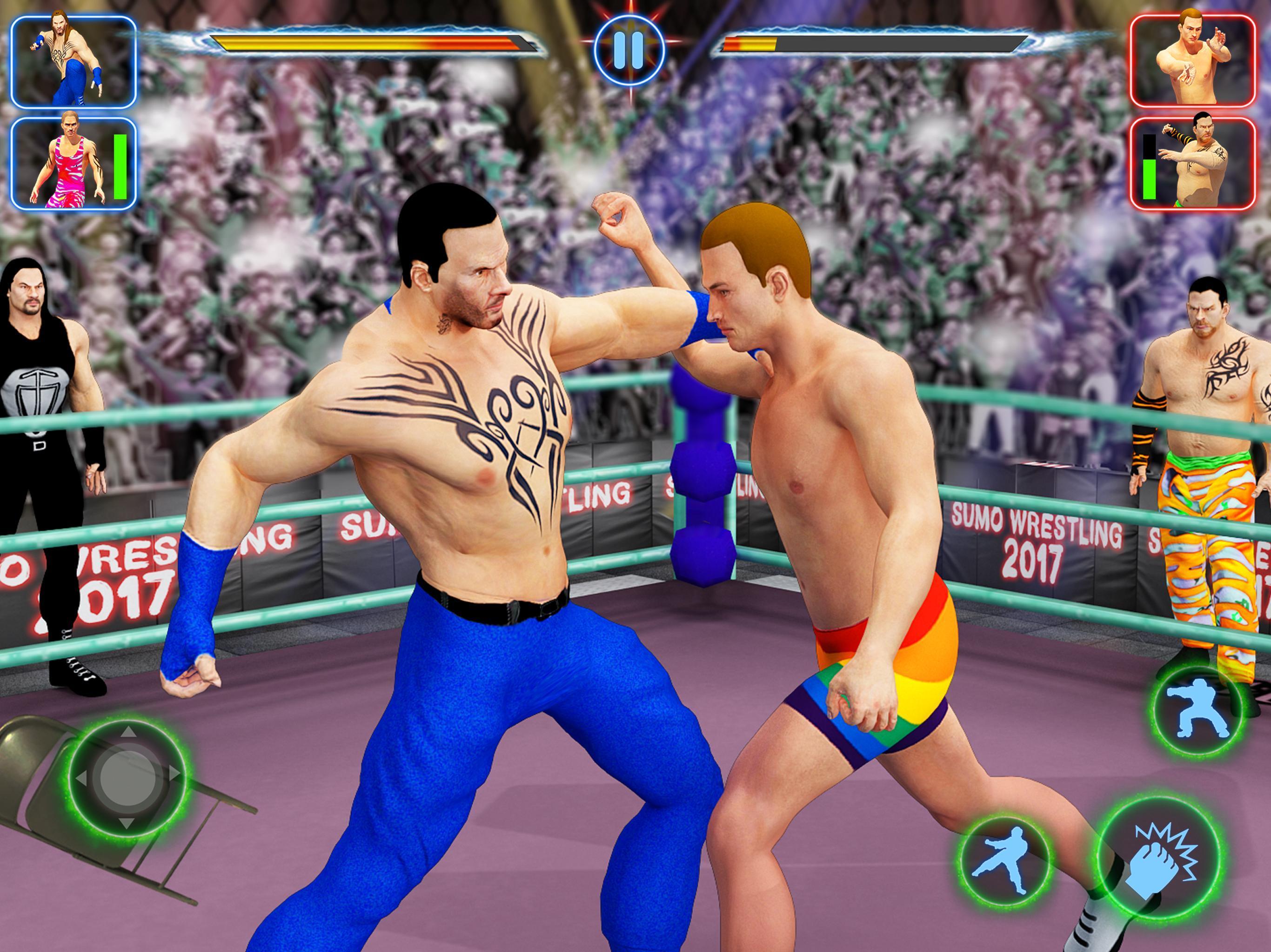 Wrestling revolution pro apk revdl   Wrestling Revolution 3D