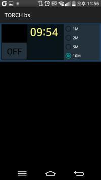 Timer Torch(Flashlight) apk screenshot