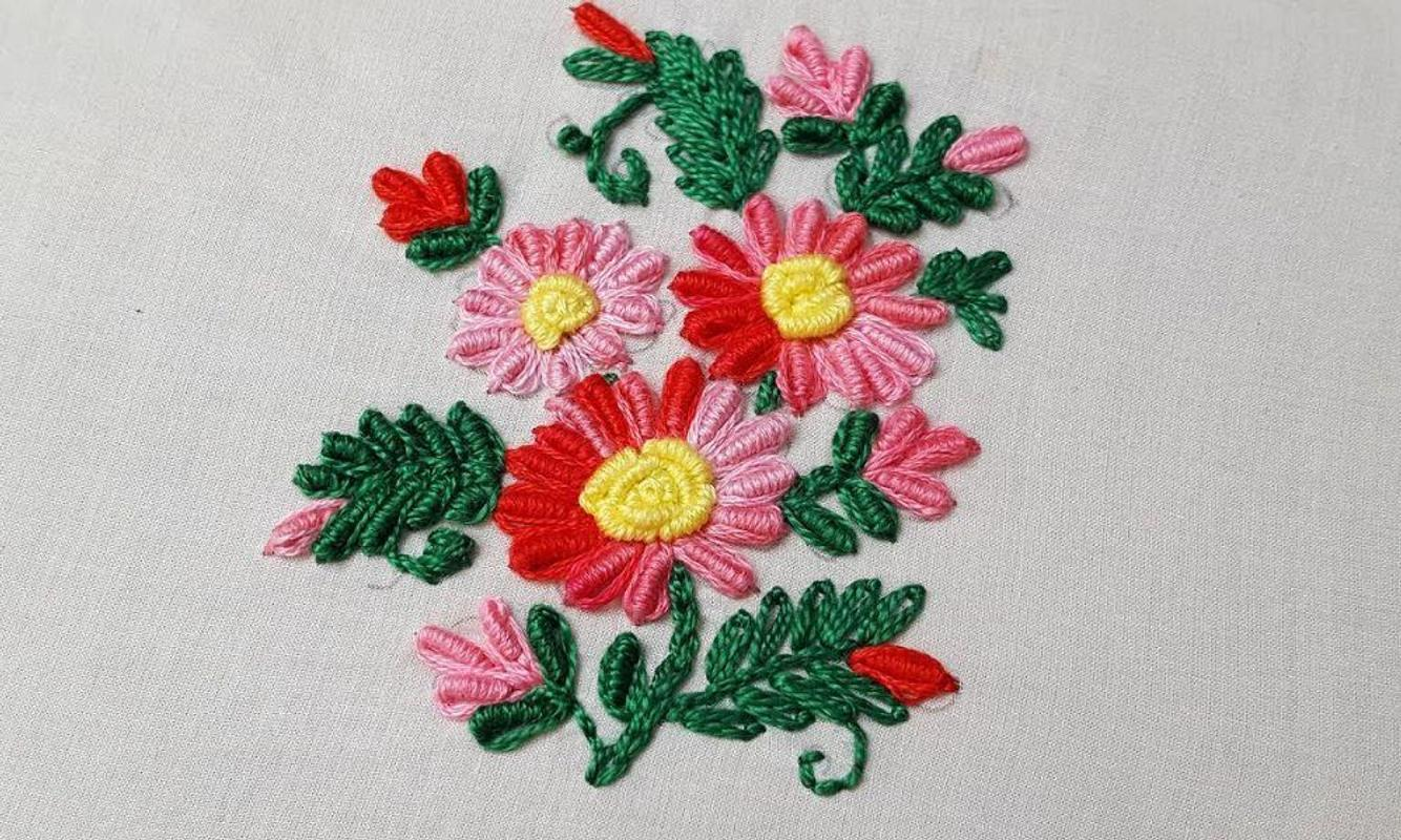 Bullion Stitches Embroidery Ideas For Android Apk Download