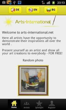 Arts International apk screenshot