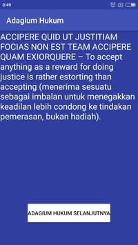 Adagium Hukum screenshot 3