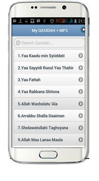 Qasidah&Qasimania Audio Mp3 apk screenshot