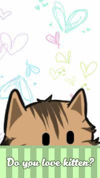 Cute Kitten Life poster