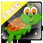 Turtle giant run icon