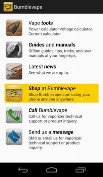 Bumblevape poster