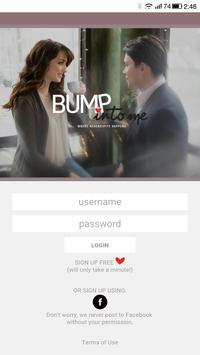 Bump Into Me poster