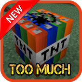 Too much TNT mod mcpe, icon