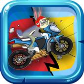 looney toons: bugs motobike bunny dash icon