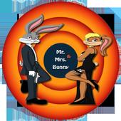 Mr and Mrs Bunny : rabbit run icon
