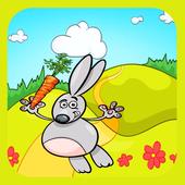bunny flying adventure icon