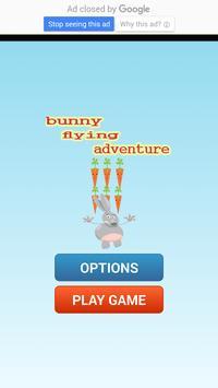 bunny flying adventure apk screenshot