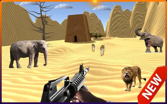 Wild Desert Animals Shooter 2018 screenshot 3