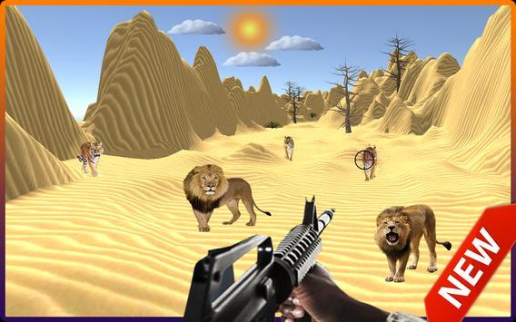 Wild Desert Animals Shooter 2018 screenshot 1