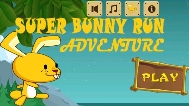 Super Bunny Run Adventure poster