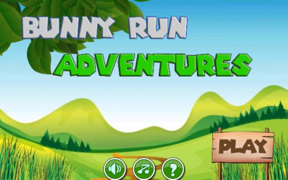 Bunny run adventures 2 poster