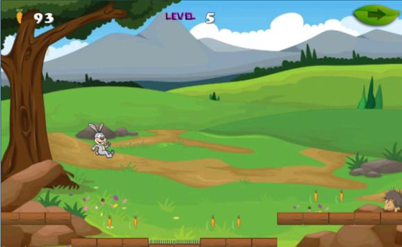 Bunny run adventures 2 apk screenshot