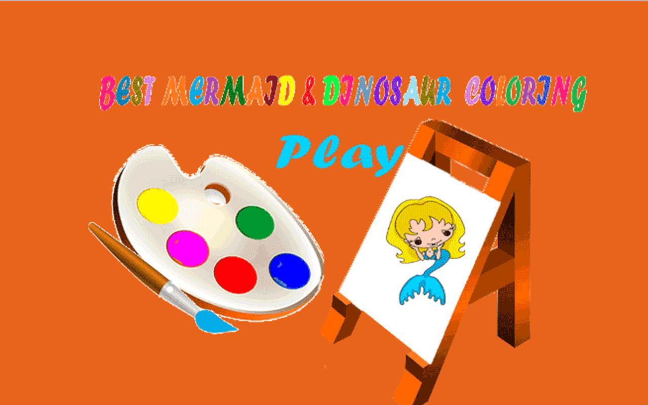 Little Mermaid Coloring Book APK Download