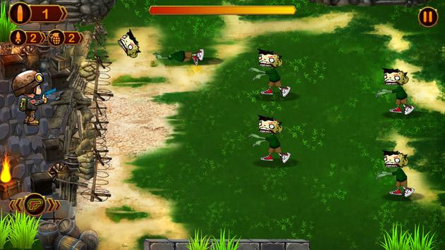Zombie Defense - Darkest Day apk screenshot