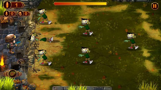 Zombie Defense - Darkest Day screenshot 1