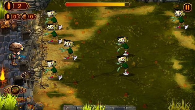 Zombie Defense - Darkest Day screenshot 2
