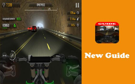Guide for traffic rider new apk screenshot