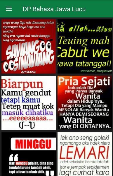 DP Bahasa Jawa Lucu for Android APK Download
