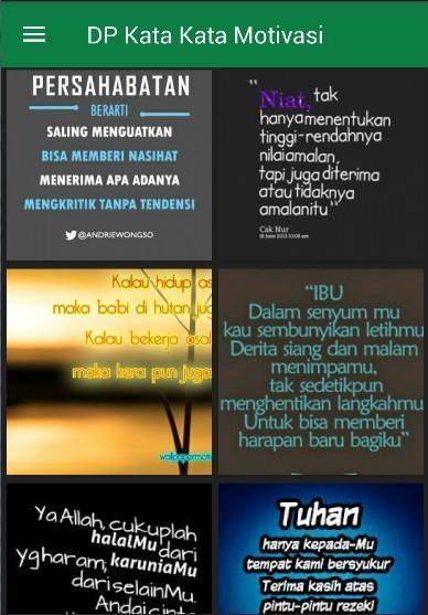 Gambar Dp Kata Kata Motivasi Für Android Apk Herunterladen