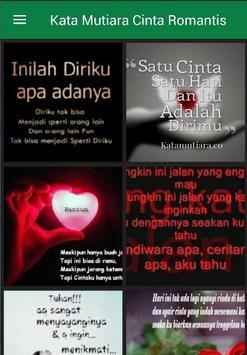 Kata Mutiara Cinta Romantis poster
